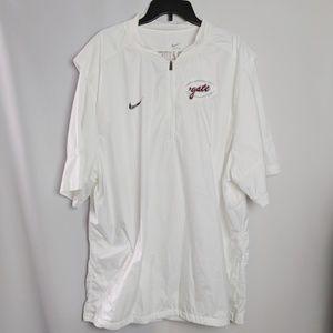 Colgate Raiders White Nike Coach's Jacket Sz 4X